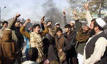 Aufruhr nach KoranVerbrennung