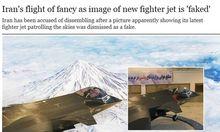 Faelschung Iran soll KampfjetFoto