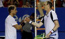 Rafael Nadal und Sam Querrey