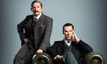 John Watson (Martin Freeman) und Sherlock Holmes (Benedict Cumberbatch) / Bild: (c) BBC