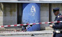 Brindisi Italiens Polizei sucht
