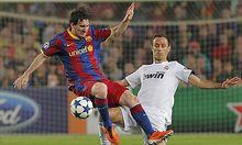 Lionel Messi und Ricardo Carvalho: Ein ungleiches Paar.