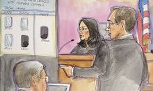 Samsung attorney Verhoeven delivers his opening statement in trial between Samsung and Apple in San Jose, California