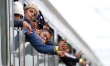 Von wegen Frauen und Kinder: Rund 80 Prozent der Flüchtlinge sind junge Männer.