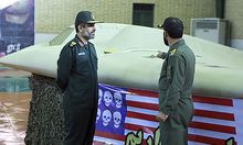 FILE - This file photo released on Thursday, Dec. 8, 2011, by the Iranian Revolutionary Guards, claim