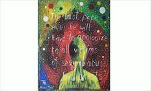 Auch in der Kunst fordert Michael Tfirst Bewusstsein dafü, was ihm angetan wurde.