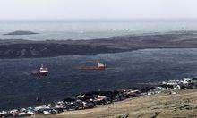 Haende Auch zuendelt FalklandKonflikt