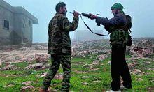 Syrien dulden hier keine