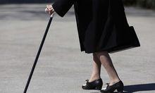 Symbolbild Pensionistin
