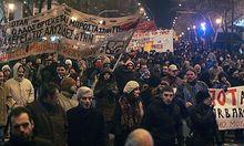 Griechische Gewerkschaften rufen zu Protesten gegen das Sparprogramm auf