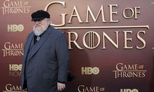 Co-executive producer George R.R. Martin arrives for the season premiere of HBO´s ´Game of Thrones´ in San Francisco / Bild: (c) REUTERS (� Robert Galbraith / Reuters)