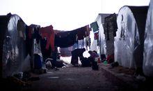 Bild eines anderen Flüchtlingslagers in Azaz.