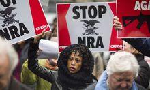USA GUN PROTEST NRA