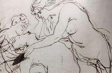 Rubens, Venus, um Adonis trauernd /