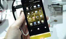 Xperia erste Auftritt Sony