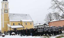 Hunderte Besucher kamen zum Begräbnis in die Heimatgemeinde des Oberösterreichers.