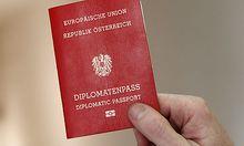 Diplomatenpässe kommende Woche im Nationalrat