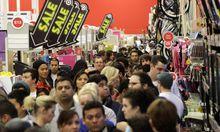 Invasion der Shopping-Aficionados
