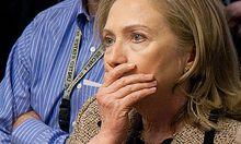 Clintons SchockBlick allergische Reaktion