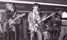 Mit der Band Drahdiwaberl als Bassist 1981 im U4: Es sollte noch ein Jahr bis zur Solokarriere dauern.