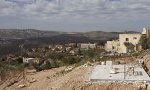 Archivbild: Eine israelische Siedlung im Westjordanland