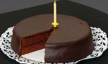 Symbolbild: Zankapfel Geburtstagstorte