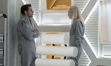 Toll besetzt: Jonah Hill und Emma Stone als überforderte Großstädter, die sich in die Obhut einer wenig vertrauenserweckenden Pharmafirma begeben. / Bild: (c) Michele K. Short / Netflix