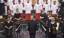 Gardiner hat mit seinen English Baroque Soloists und dem Monteverdi Chor eine neue Matthäuspassion auf CD herausgebracht.