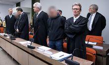 """Der Prozess gegen die """"Oldschool Society"""" in München endete mit Schuldsprüchen."""
