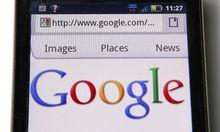 Google Google faehrt Geschuetze