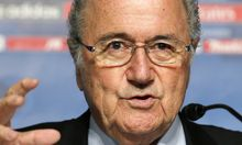Fifa-Präsident Joseph Blatter