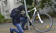 Fahrraddiebstahl kommt erheblich häufiger vor, als er angezeigt wird (Symbolfoto).