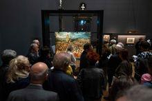 Einblick in die volle Bruegel-Ausstellung / Bild: APA/AFP/JOE KLAMAR