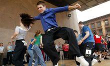 Tanzen Stillstand Rueckschritt