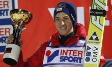 Skispringen Schlierenzauer gewinnt OlympiaProbe