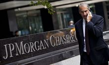 File photo of JP Morgan Chase's international headquarters on Park Avenue in New York