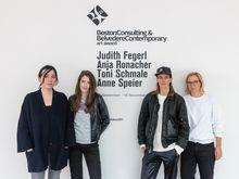 Die Künstlerinnen des BC21-Awards / Bild: Johannes Stoll