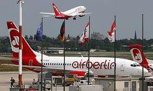 Der Air Berlin macht die Luftverkehrsabgabe schwer zu schaffen