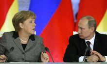 Vladimir Putin, Angela Merkel