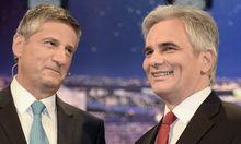 Michael Spindelegger und Werner Faymann