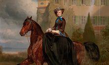 Das Gemälde von Carl Theodor von Piloty und Franz Adam stammt aus dem Jahr 1853.