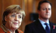 Merkel Cameron betonen gemeinsame