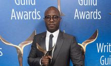 February 19 2017 Beverly Hills California U S Writer Barry Jenkins poses in the press room of