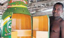 Ghana Exportschlager Kreativsarg