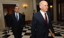 Koalitionschefs Papandreou und Samaras verpflichteten sich zu Reformzusagen