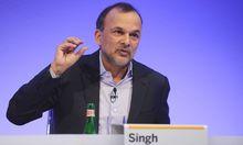 SAP SE Steve Singh Mitglied des Global Managing Board SAP SE anl��lich der Ver�ffentlichung der