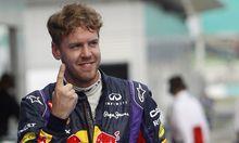 Formel Vettel erobert Pole