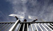 Protest in Zypern