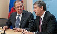 Der russische Außenminister Sergej Lawrow hat bei einem Besuch in Wien vor einem Regimewechsel in Syrien gewarnt.