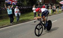 Wiggins erlitt Trainingskollision Auto